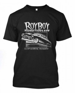 Click here to order the shirt and support Royboy!